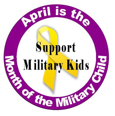 military kids april logo