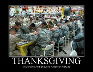 thanksgiving military